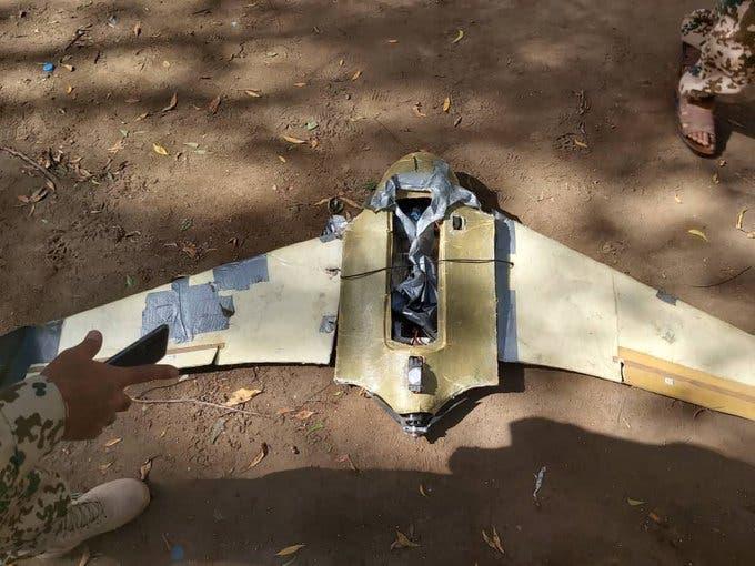 طائرة مسيرة حوثية في الدريهمي