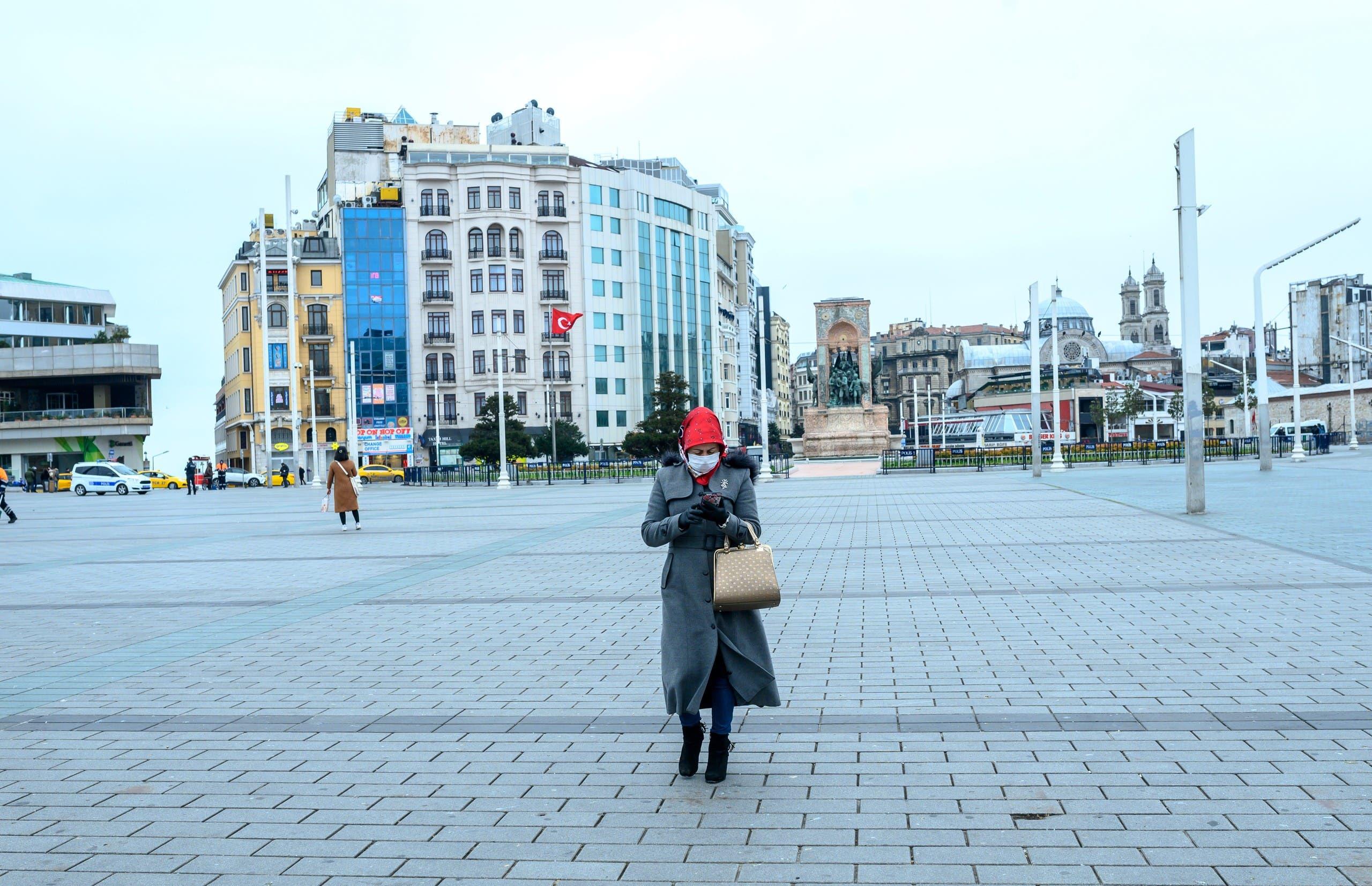 من ساحة تقسيم في إسطنبول (أرشيفية - رويترز)