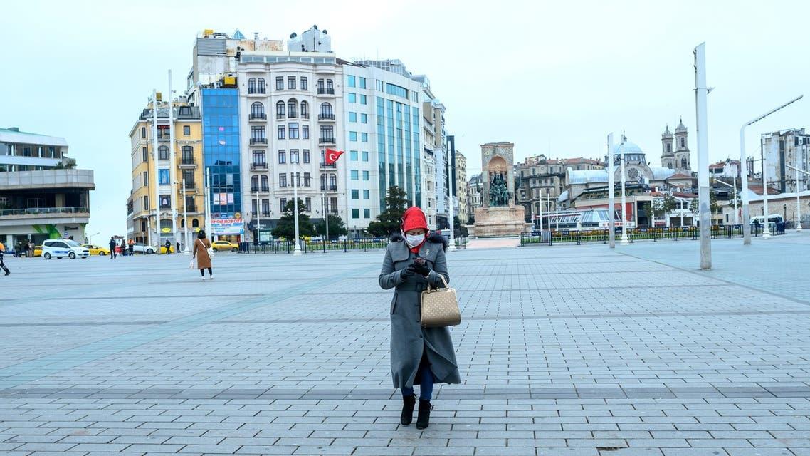 من ساحة تقسيم في اسطنبول (أرشيفية- رويترز)