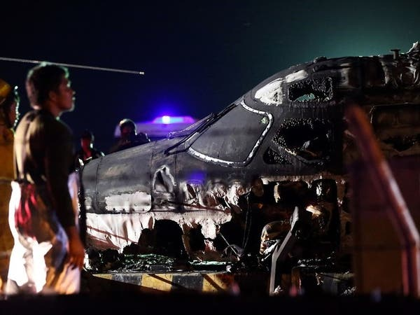 تحولت إلى كرة لهب.. انفجار طائرة إخلاء طبي ومقتل ركابها