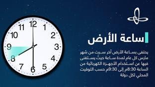 شاهد كيف شاركت السعوديةفي ساعة الأرض