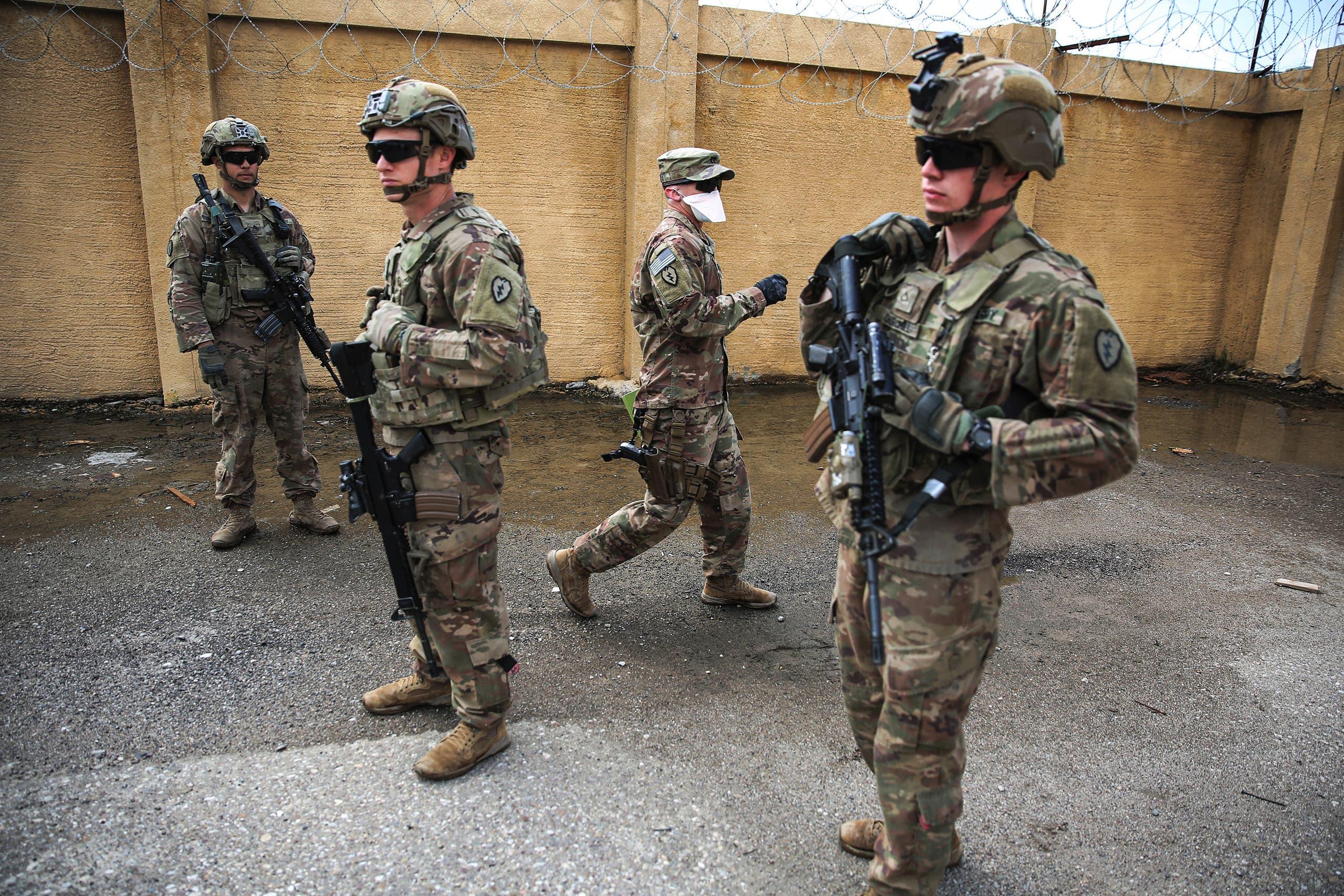 مروحيات من التحالف الدولي في العراق