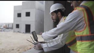 طائرات درون لفحص العاملين بمشاريع الإسكان السعودية