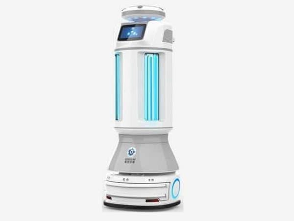 روبوت صيني يحارب كورونا بالأشعة فوق البنفسجية