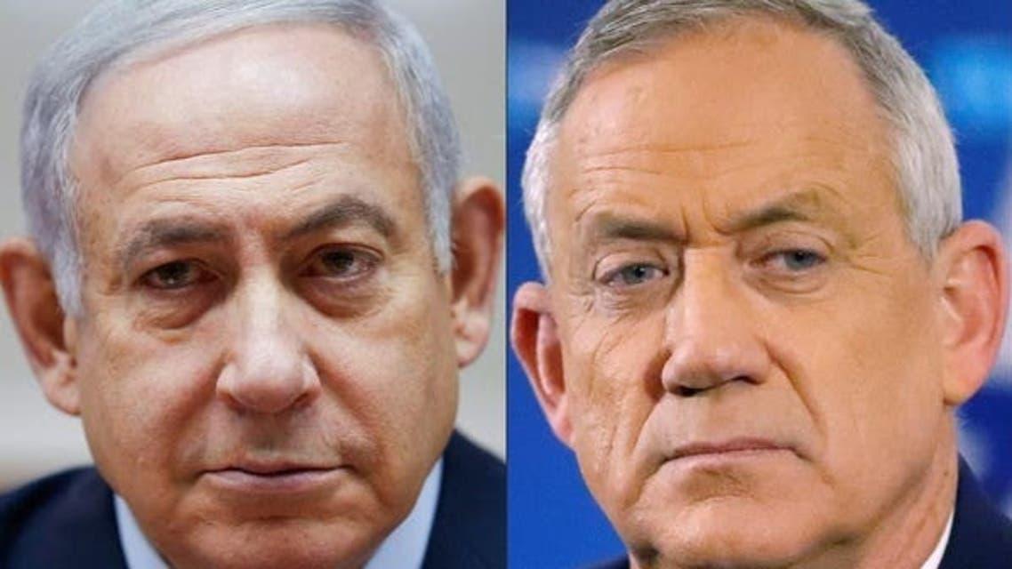 Combo of Netanyahu and Gantz