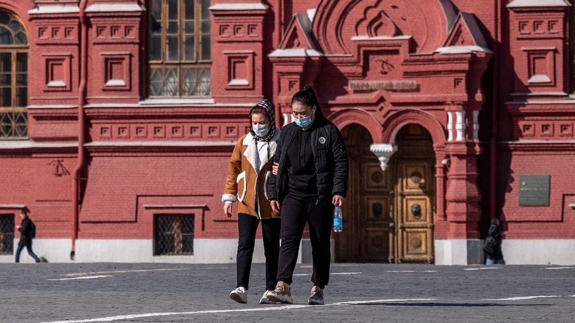 Russia Moscow Coronavirus