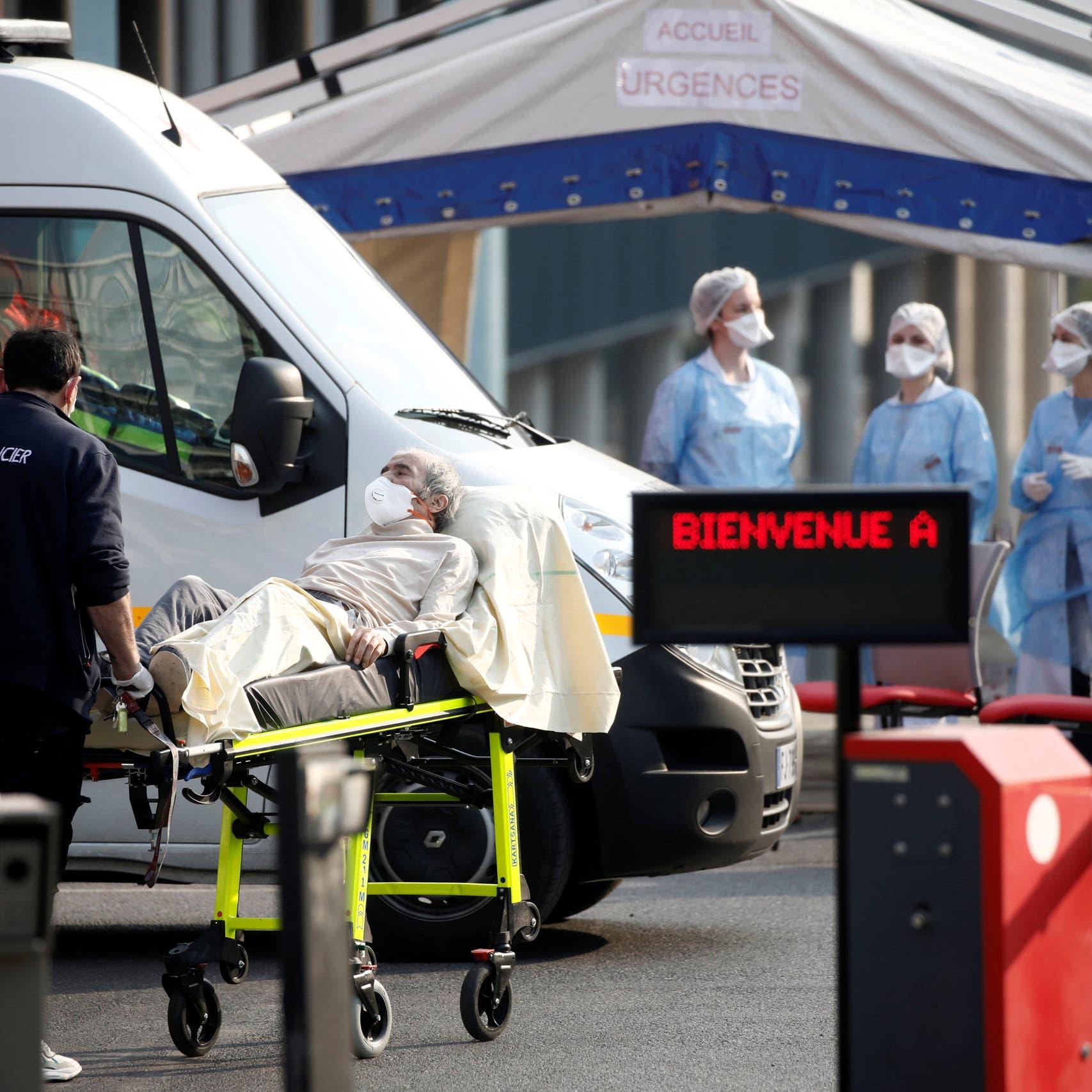 ارتفاع إصابات كورونا في فرنسا إلى 37575