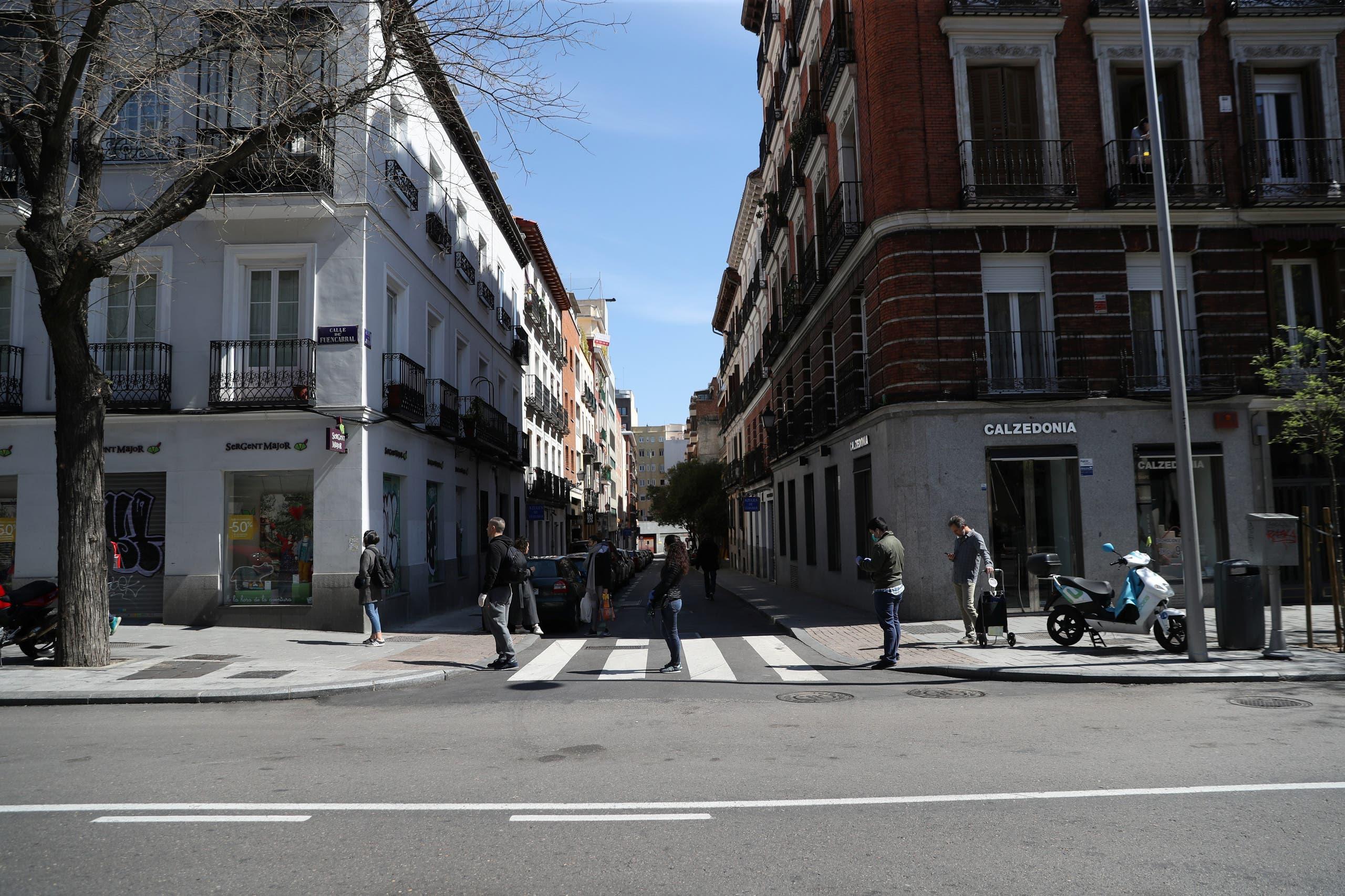 من مدريد - رويترز
