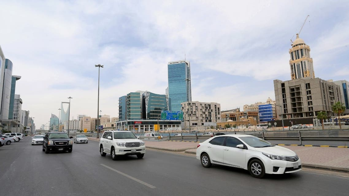 General view shows the cars on the street, after curfew lifted, which was imposed to prevent the spread of the coronavirus disease (COVID-19), in Riyadh, Saudi Arabia, March 24, 2020. (Reuters)