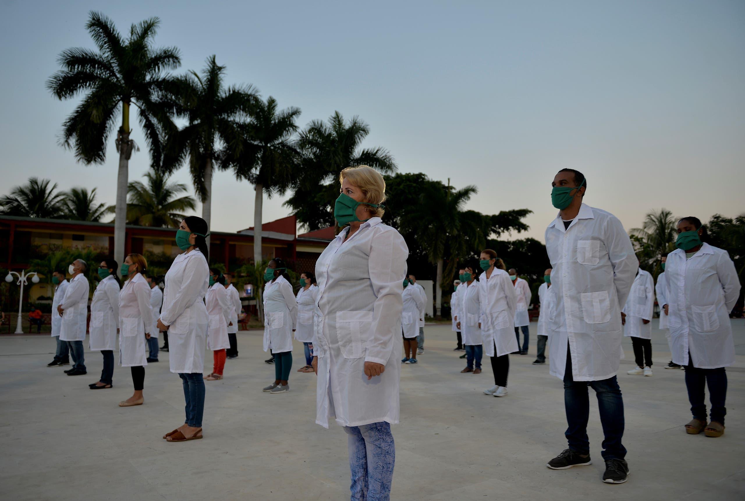 أطباء من كوبا (فرانس برس)