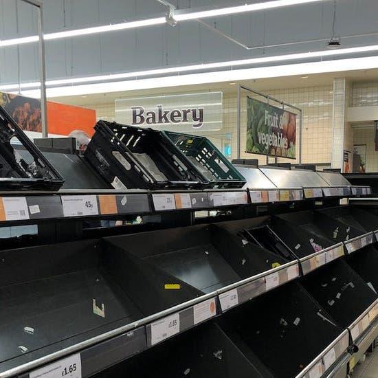 دولة أوروبية قد تواجه نقصاً في السلع الأساسية والأغذية خلال أسابيع