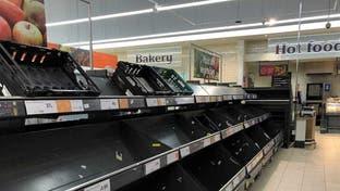 """بريطانيا قد تواجه أزمة غذائية بسبب """"كورونا"""".. لا خضار وفواكه"""
