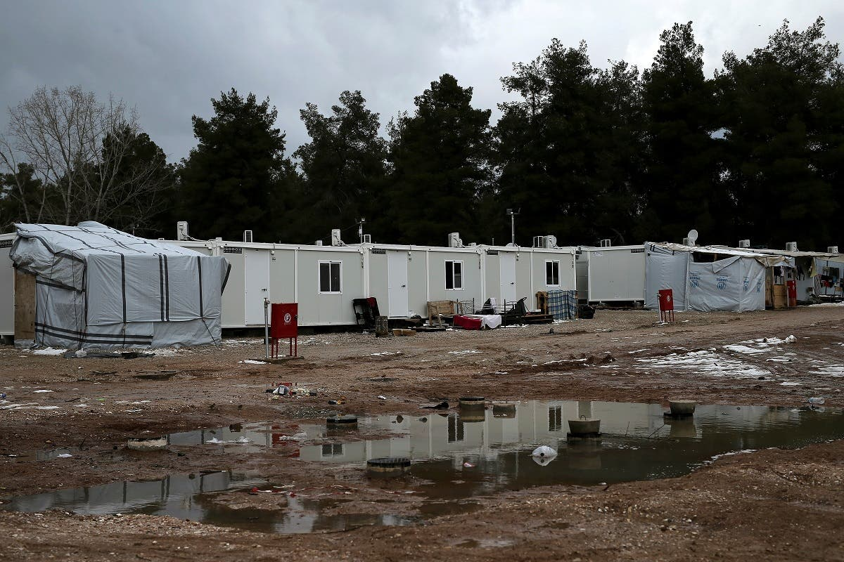 A view of a refugee camp in Ritsona, northern of Athens, Greece. (File photo: Reuters)