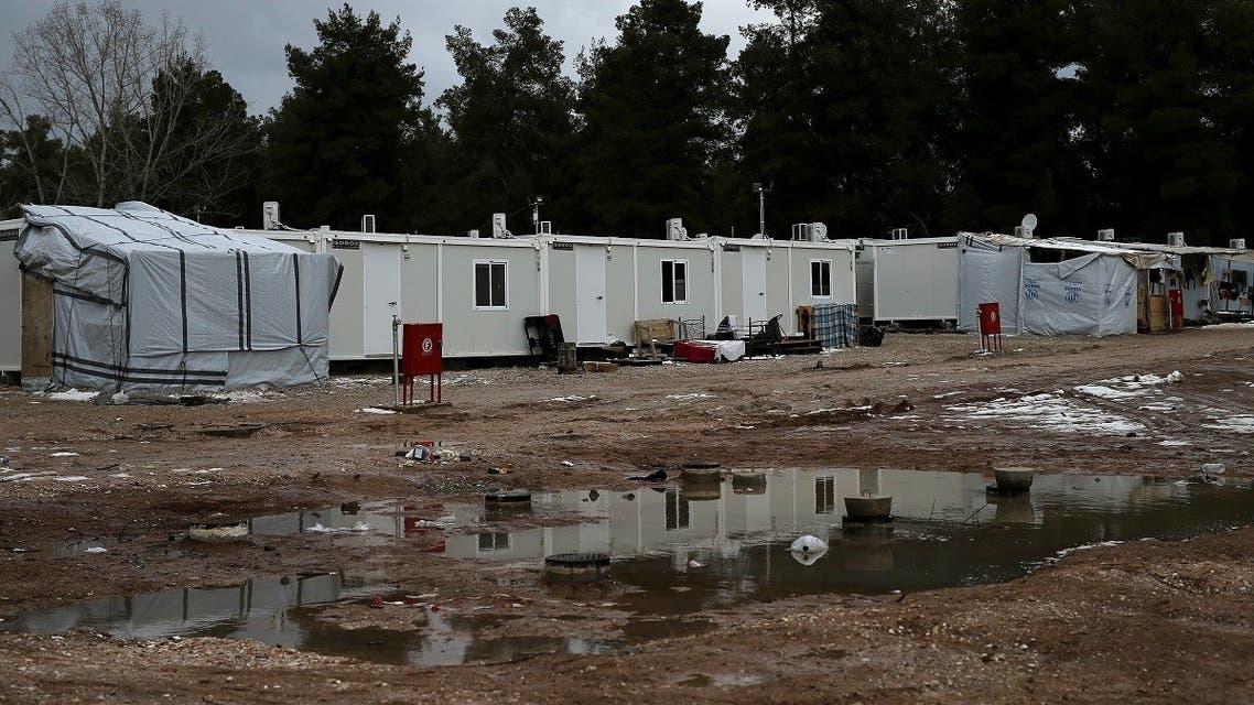 Greece a refugee camp in Ritsona