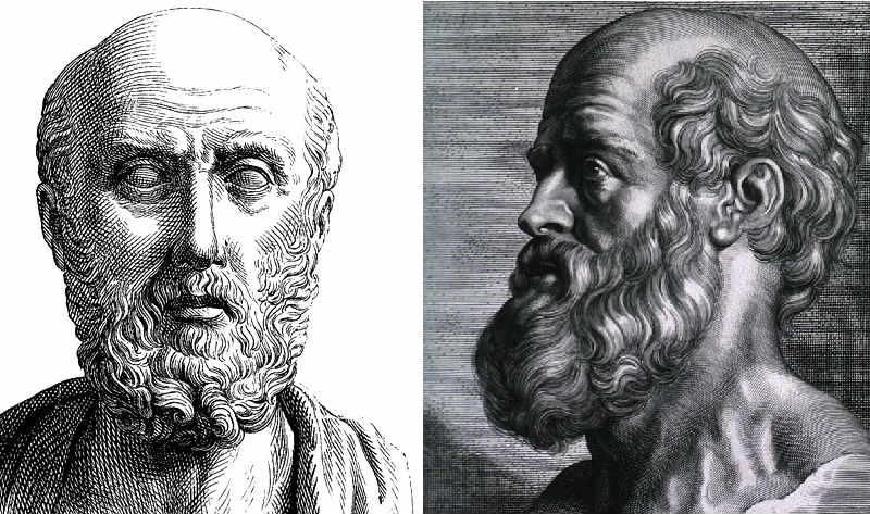 رسم تخيلي للطبيب الإغريقي أبقراط