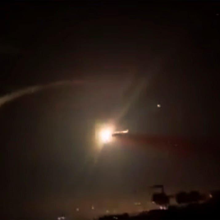 سوريا.. قصف إسرائيلي لمطار الشعيرات في حمص