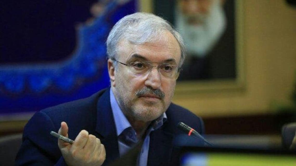 Iranian Health Minister Saeed Namaki. (Twitter)