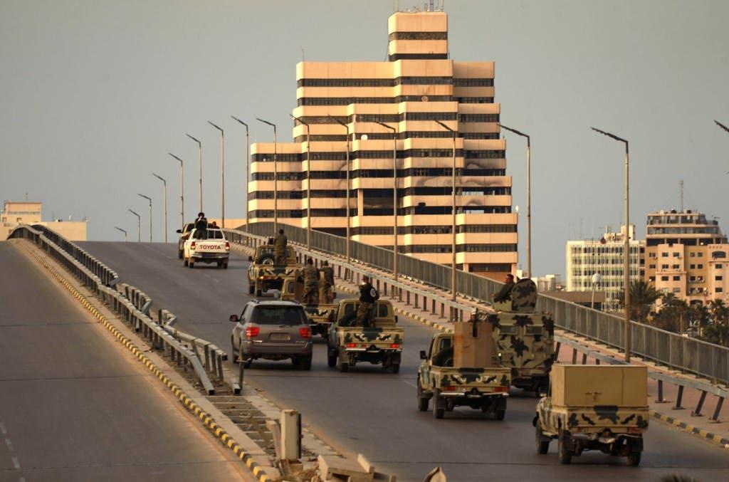 عناصر من الجيش الليبي في بنغازي( أرشيفية - فرانس برس)