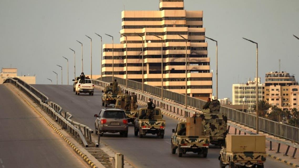 عناصر من الجيش الليبي في بنغازي - فرانس برس