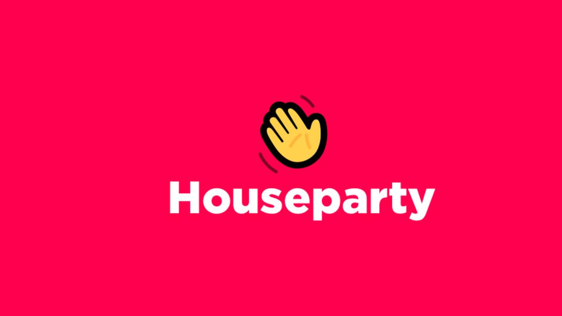 Houseparty logo from press kit off website. (Houseparty press kit)