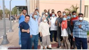الأمل يتجدد.. شفاء مسنة من كورونا في مصر