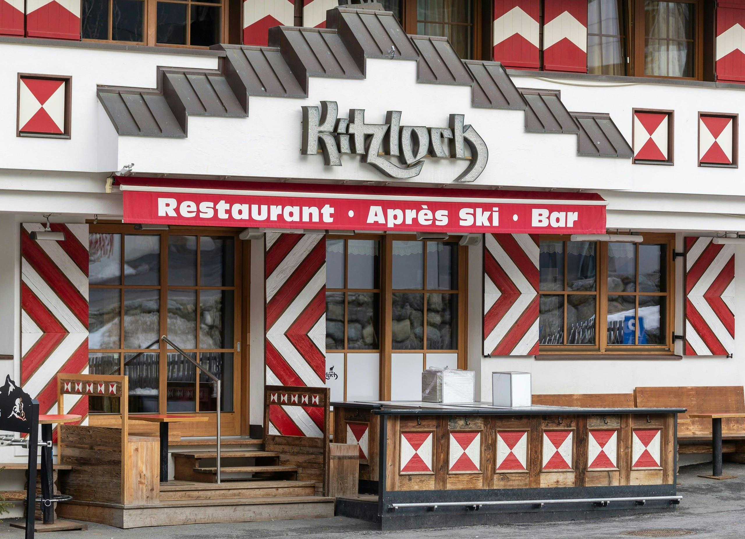 المطعم حيث كان يعمل النادل الذي نشر الفيروس في النمسا