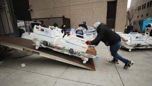 بعد تخطي وفيات كورونا 4 آلاف.. أميركا تسارع لبناء مستشفيات ميدانية