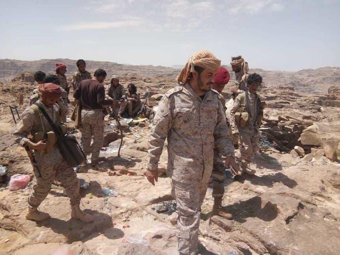مقتل وجرح قيادات حوثية بقصف للجيش اليمني