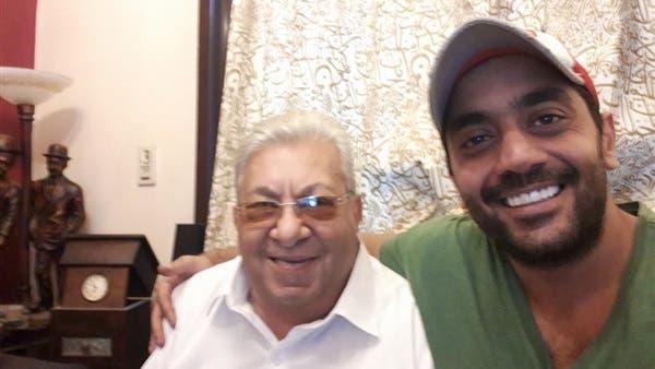 أحمد فلوكس مع والده