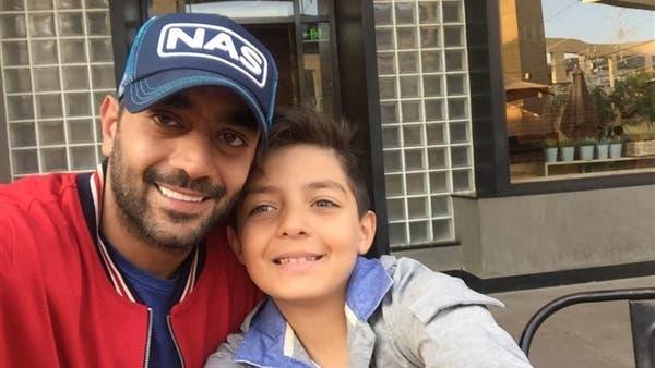 أحمد فلوكس مع ابنه