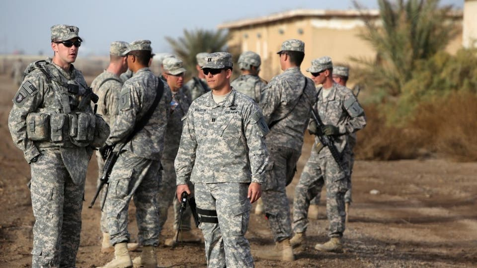أفراد من القوات الأميركية في العراق
