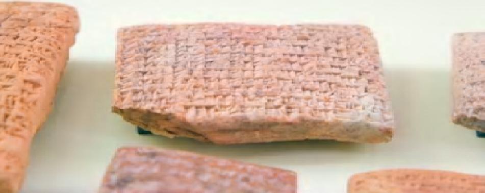 ألواح سومرية عثروا عليها في الجنوب العراقي تتحدث عن مواد مصنوعة من الزيت والشحم والرمل للتنظيف