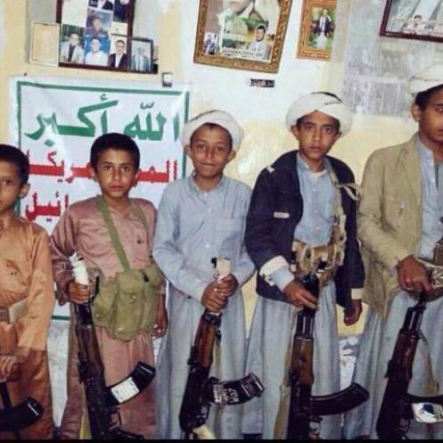 الإرياني يطالب بتحرك دولي لوقف تجنيد الأطفال باليمن