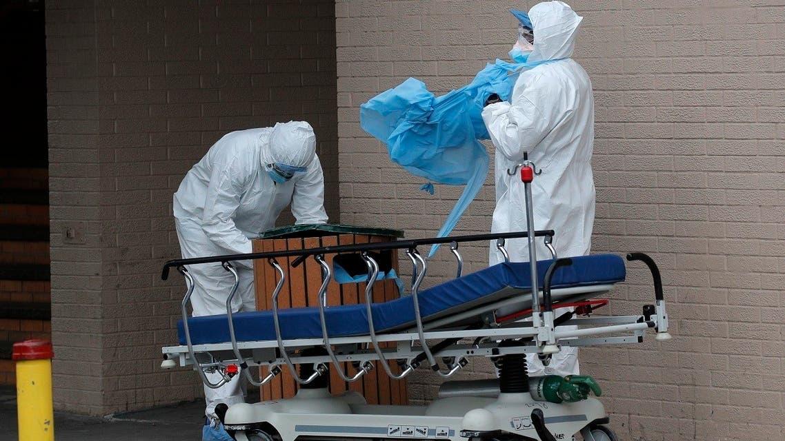 HEALTH-CORONAVIRUS-USA-NEW-YORK Reuters
