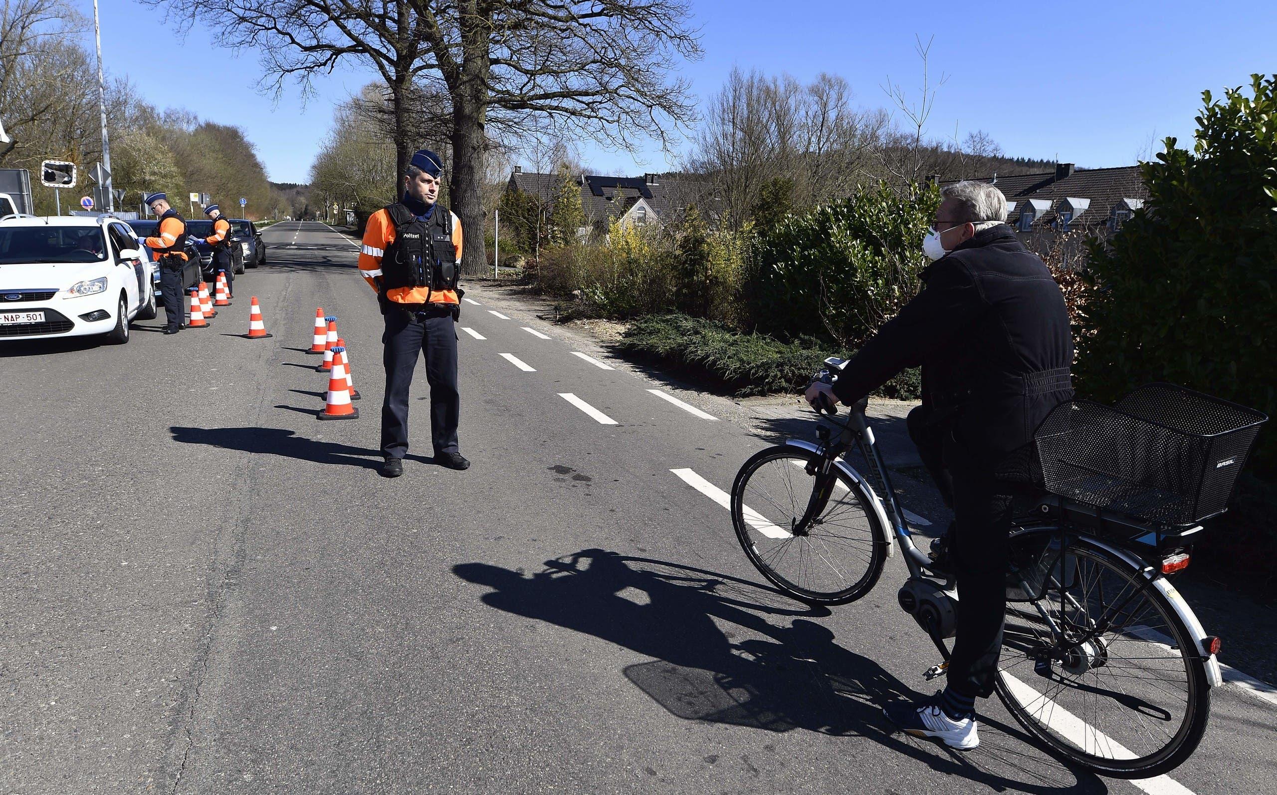 من الحدود الألمالنية البلجيكية