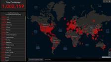 Global coronavirus cases cross the 1 million mark, death toll more than 50,000