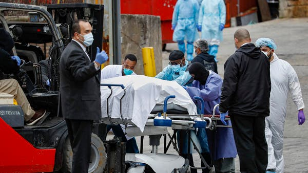 ارتفاع وفيات كورونا في أمريكا إلى 7616 والإصابات إلى 304836