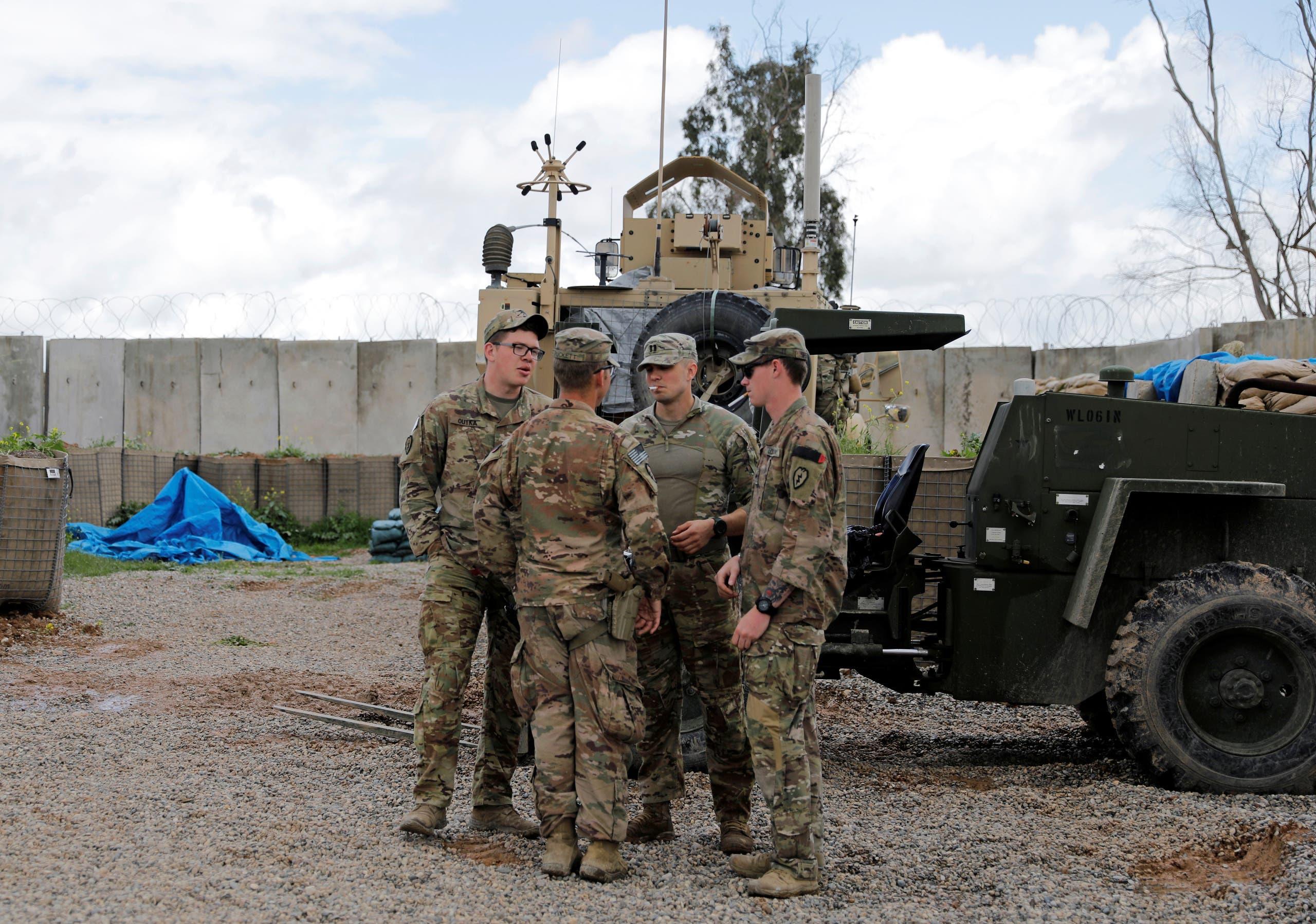 عناصر من قوات التحالف في نينوى (أرشيفية- رويترز)