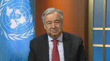 UN chief says coronavirus biggest threat to humankind, renews global ceasefire call
