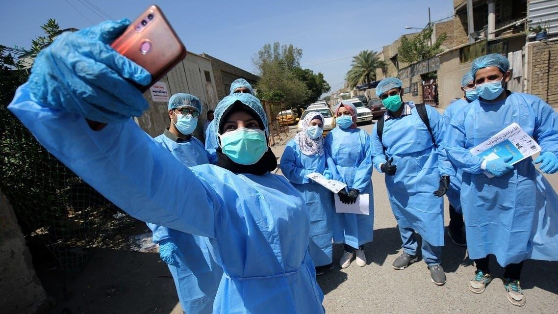 Iraqi doctors coronavirus