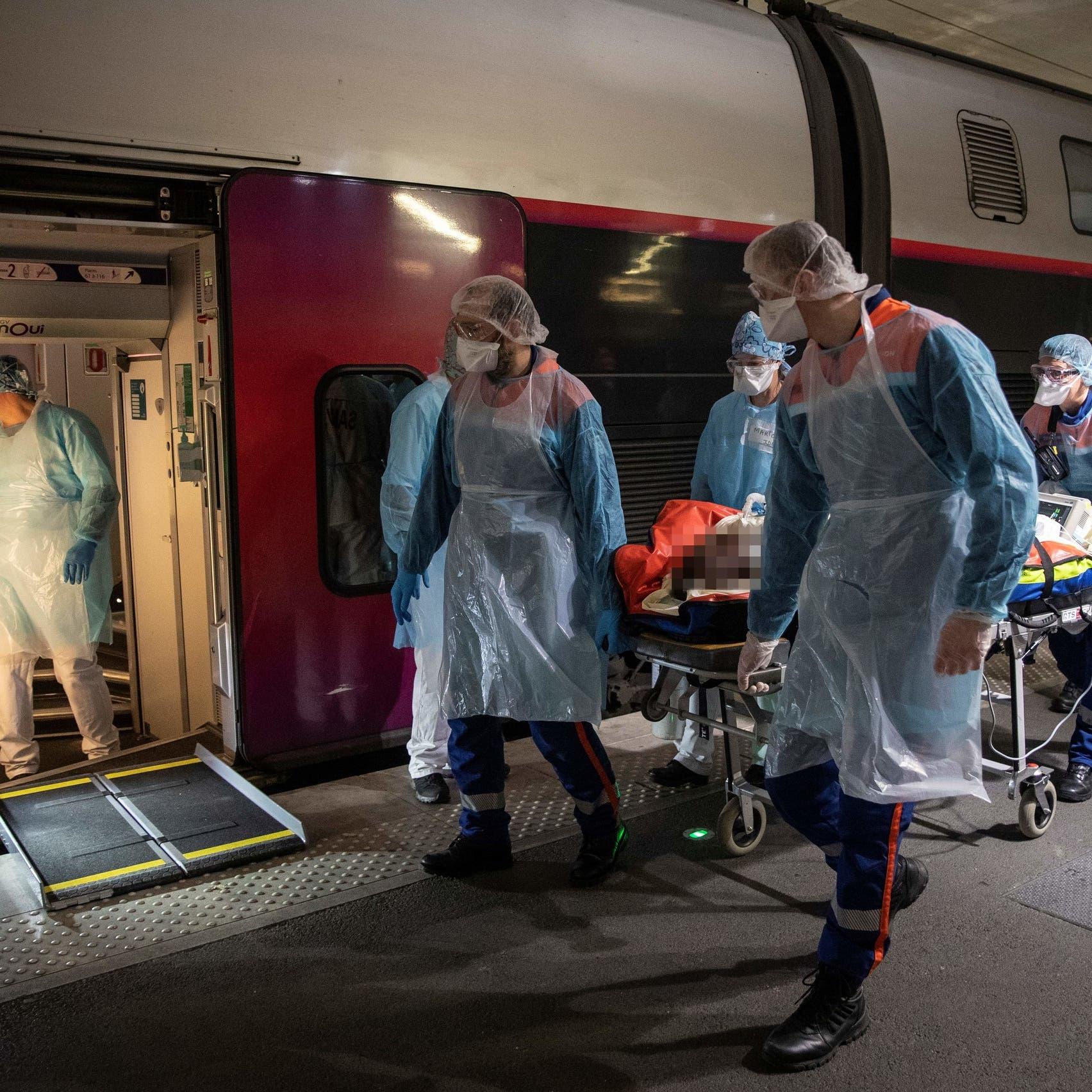 فرنسا تلجأ للقطار فائق السرعة لمطاردة كورونا