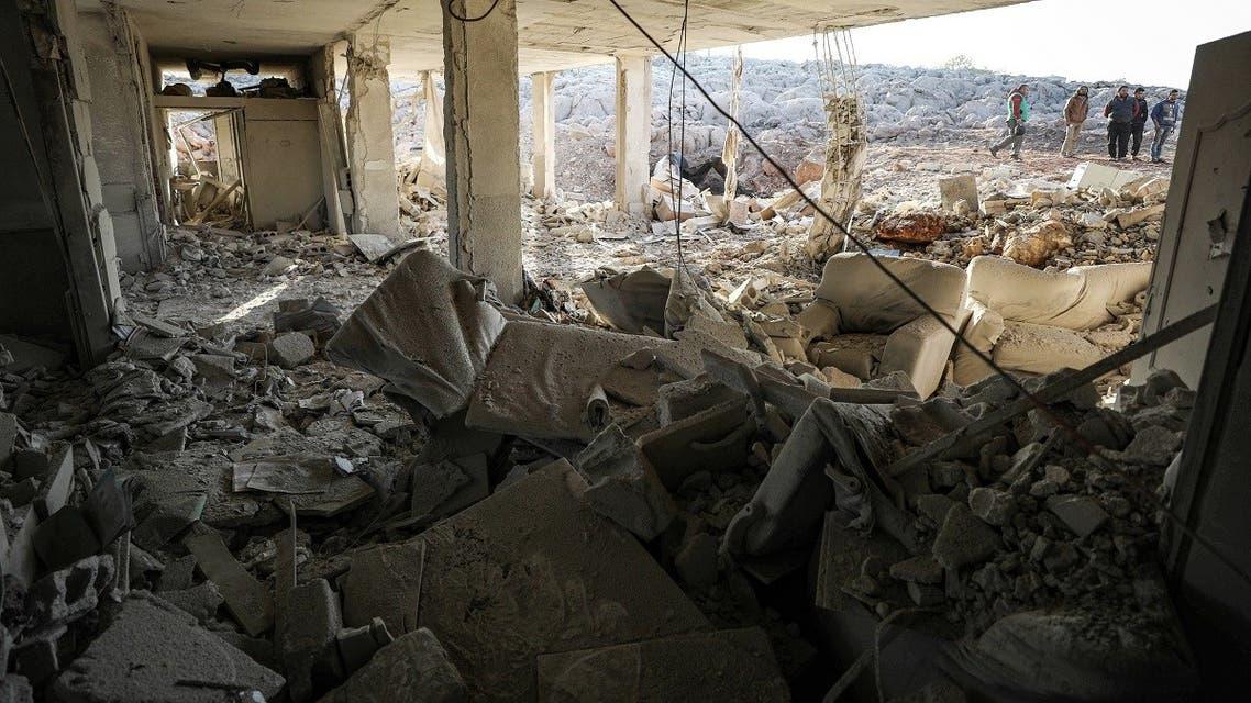 Syria Hospital airstrike (AFP)