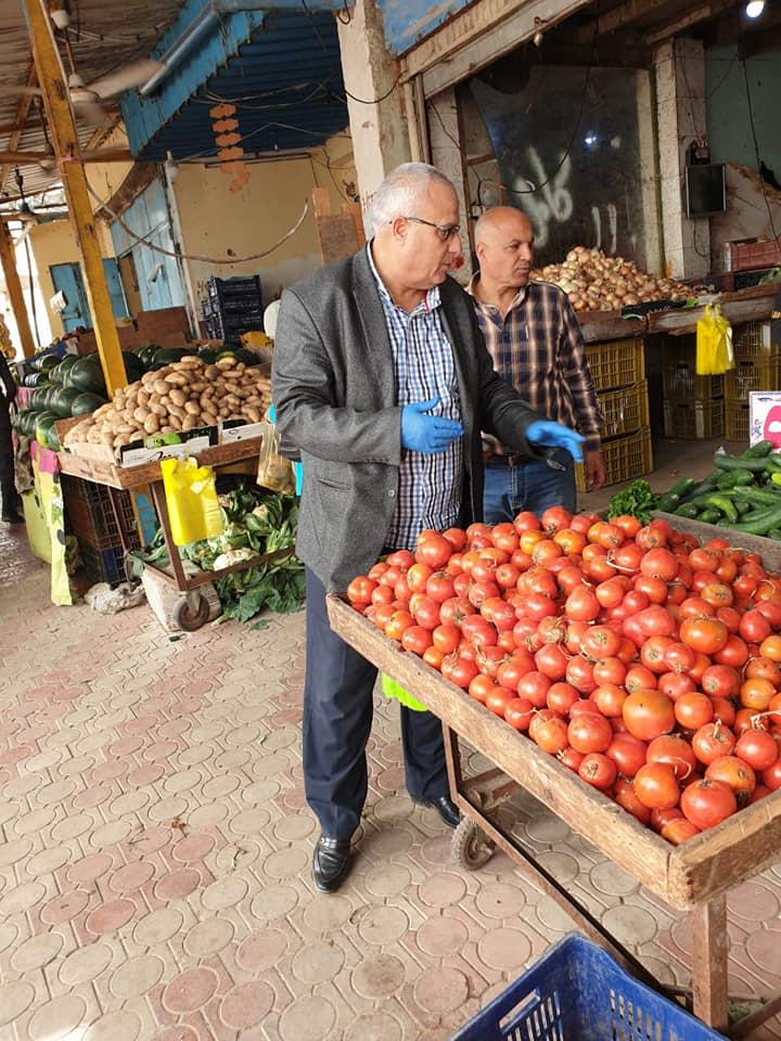 لازحام على الأسواق في شمال سيناء