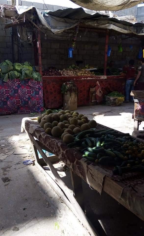 الأسواق خالية من المواطنين في شمال سيناء