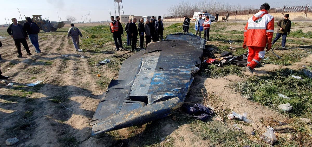 General view of the debris of the Ukraine International Airlines, flight PS752, Boeing 737-800 plane that crashed after take-off from Iran's Imam Khomeini airport, on the outskirts of Tehran. (File photo: Reuters)