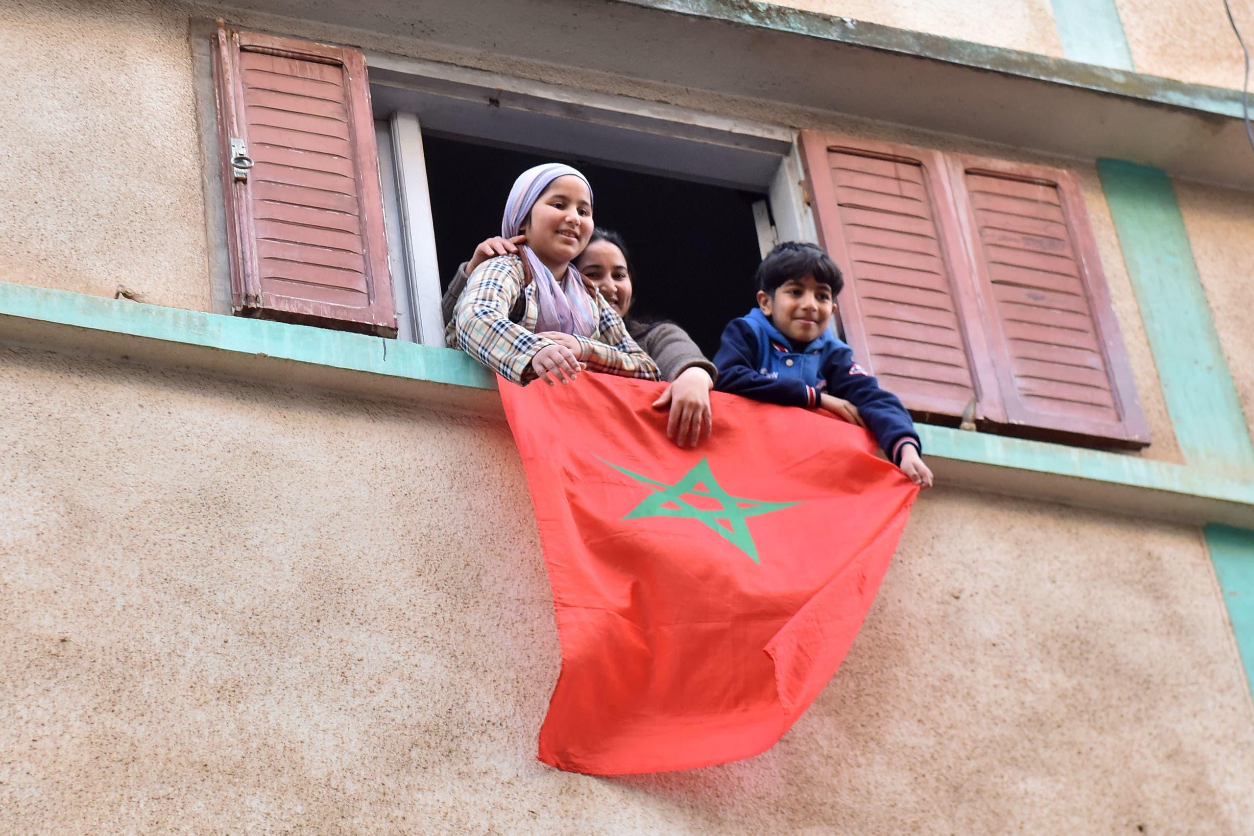 حي الانبعاث أكبر حي شعبي في مدينة سلا بقرب العاصمة المغربية الرباط