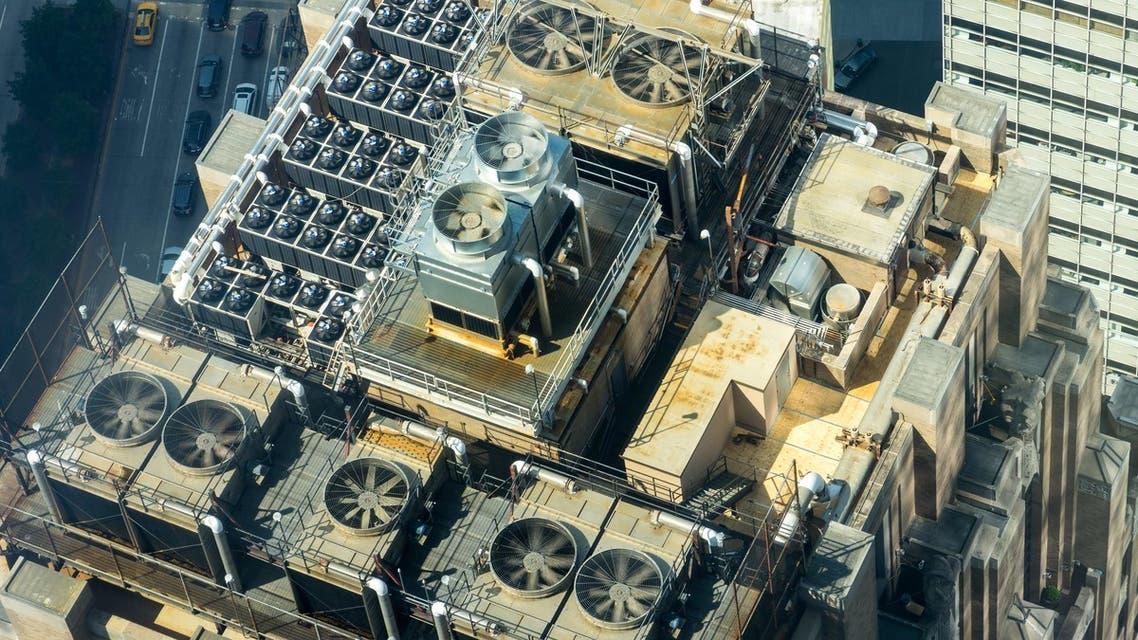 A rooftop filled with air conditioning units. (File photo: Sergei Akulich/Unsplash)