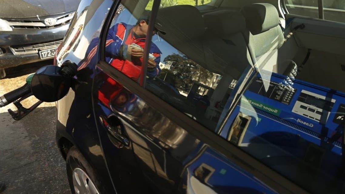 محطة وقود في تونس
