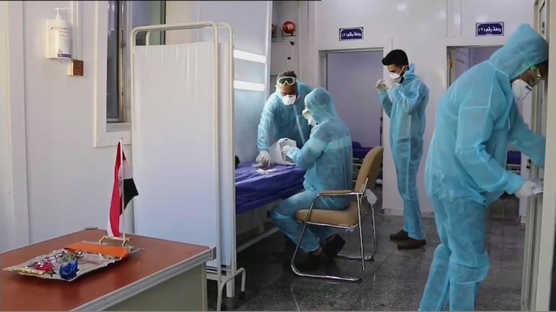العراق.. مستشفيات من الكرفانات بديل سريع لمواجهة كورونا