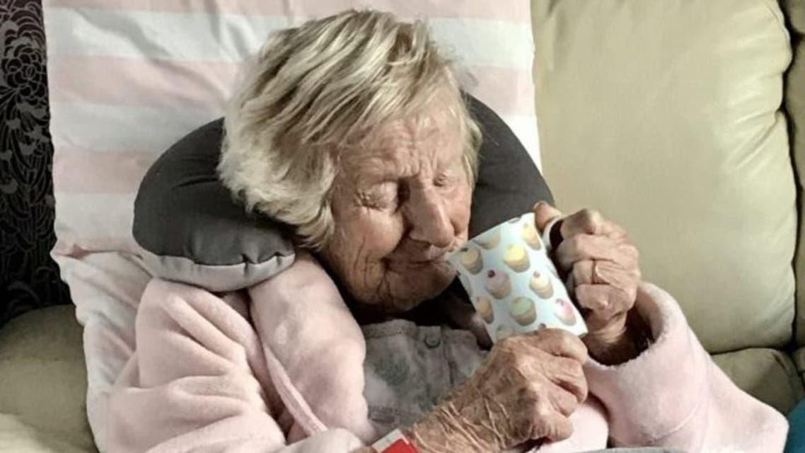 British: Old lady getting well from coronavirus